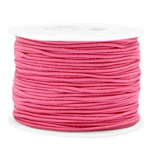 1.5mm elastiek azalea pink