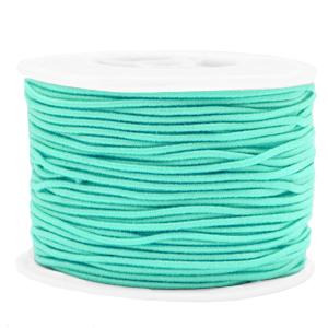 1.5mm elastiek neo mint green