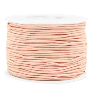 1.5mm elastiek peach blush pink