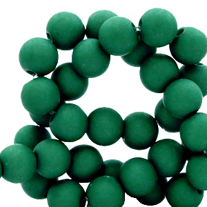 Acryl kralen 4mm matt fir green