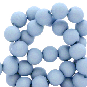 Acryl kralen 8mm carolina blue