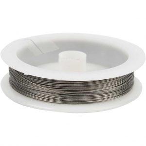 Zilver metaaldraad 0.45mm